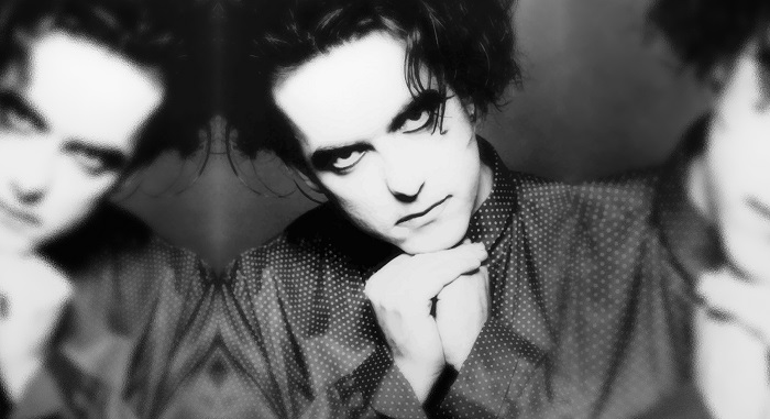 Robert Smith, vocalista do The Cure.
